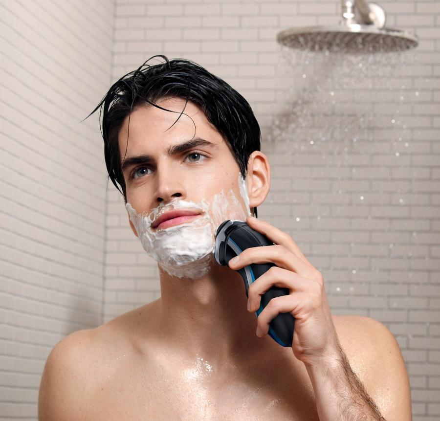 Can I use an electric razor in the shower? 1